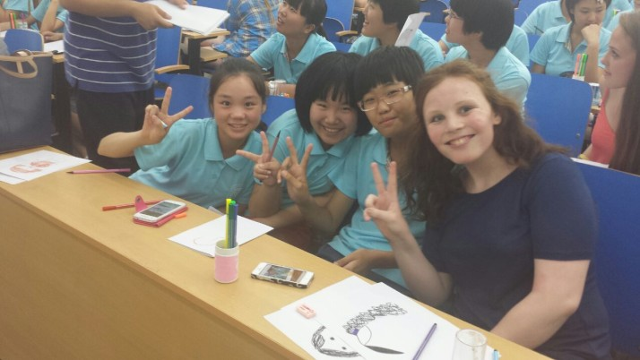 Beijing Summer Camp – Gaeltacht goes global…