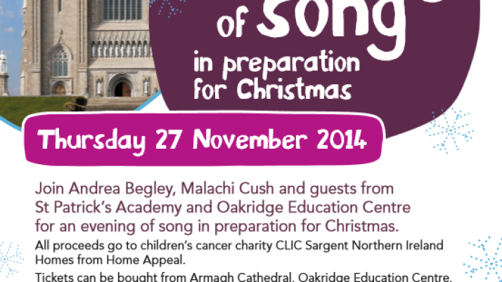 """An Evening of Song"" in preparation for Christmas"