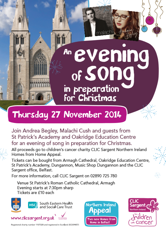 """""""An Evening of Song"""" in preparation for Christmas"""