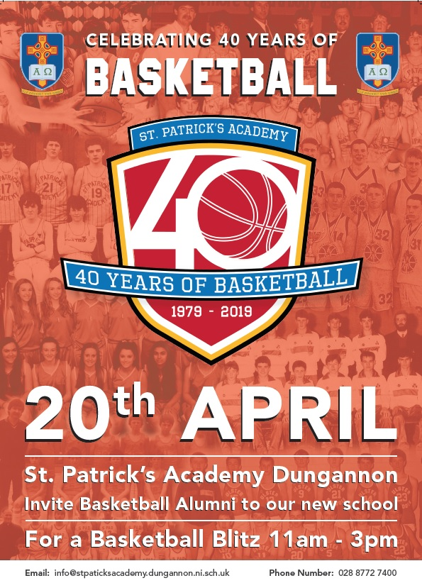 Celebrating 40 years of Basketball